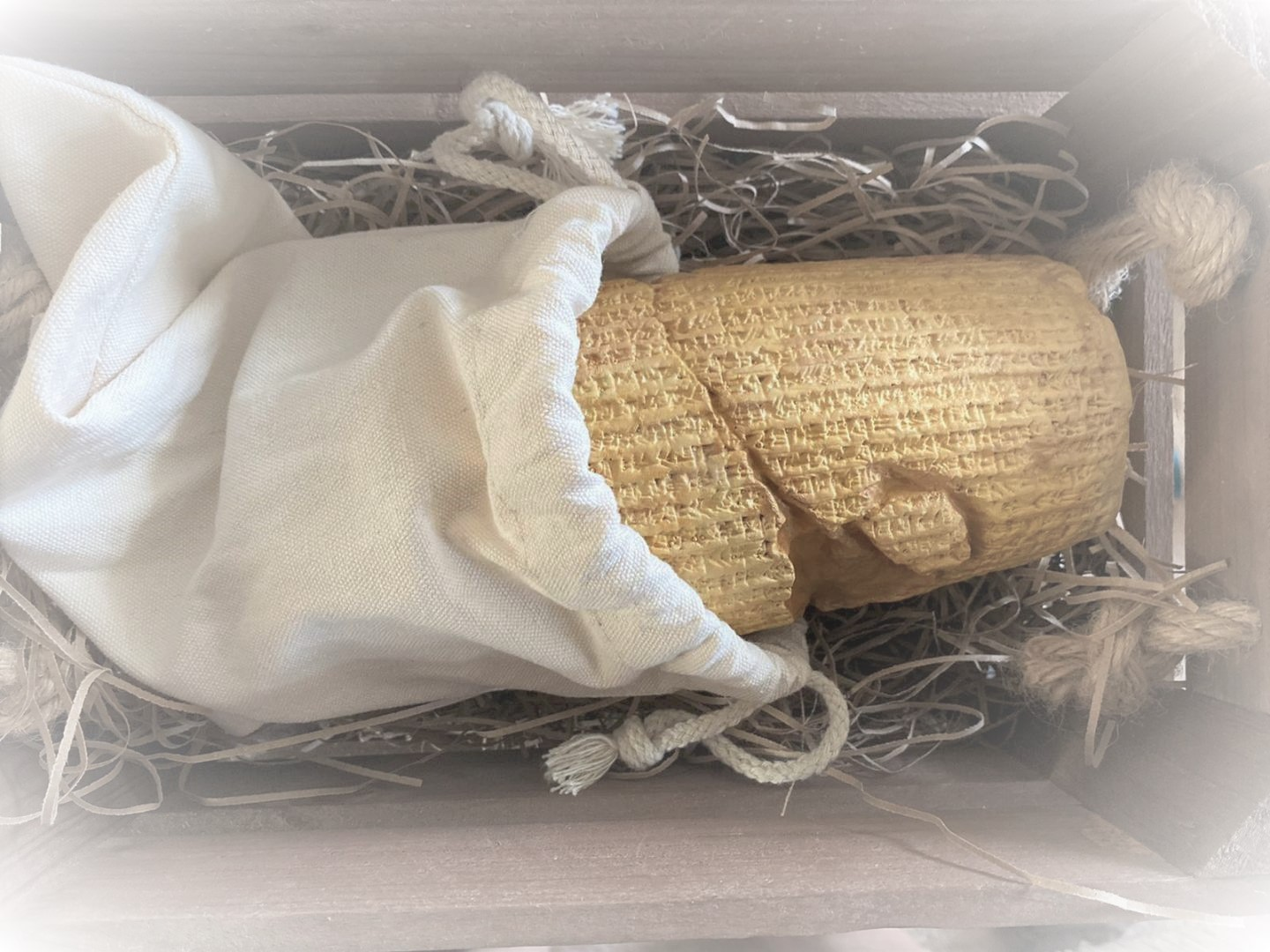 The Cyrus Cylinder Replica